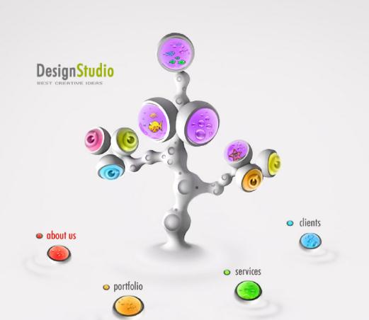 如何让企业网站页面设计更舒服?