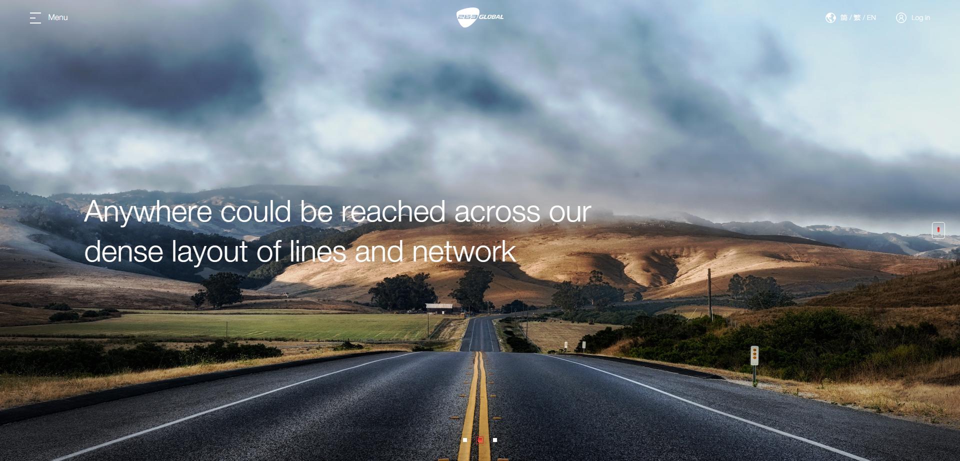 263集团旗下子公司263 Global响应式网站建设由酷站科技完成上线